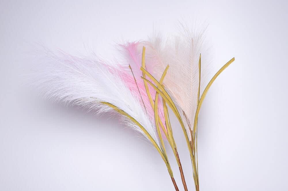 Artificial Pampas Grass Colors Selection