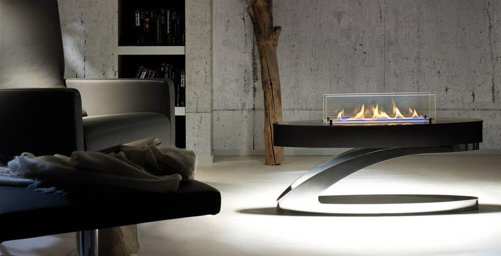 ethanol fireplace design