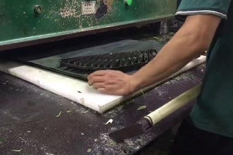 Manufacturing Leaf with Machine