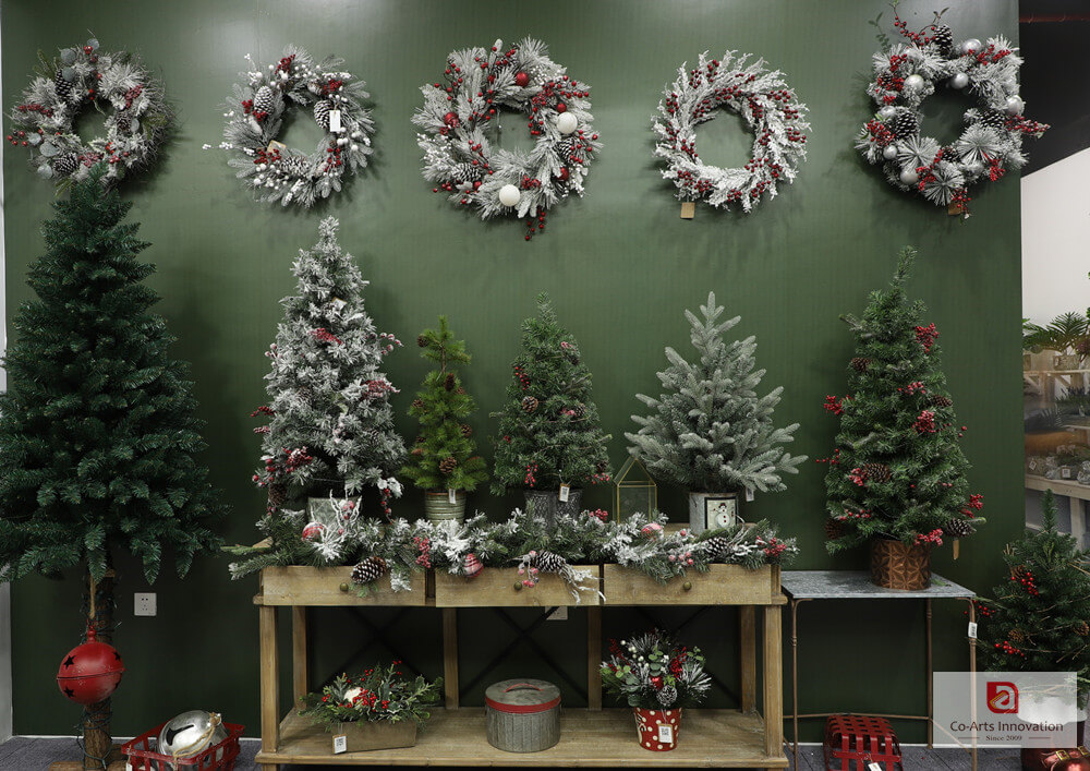Co-Arts Artificial Christmas Trees and Christmas Decoration