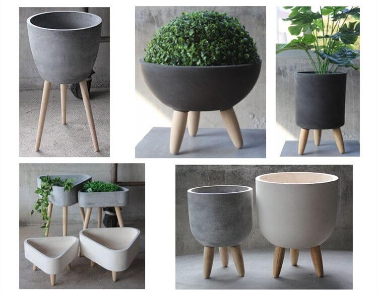 Concrete Planters in Different Designs