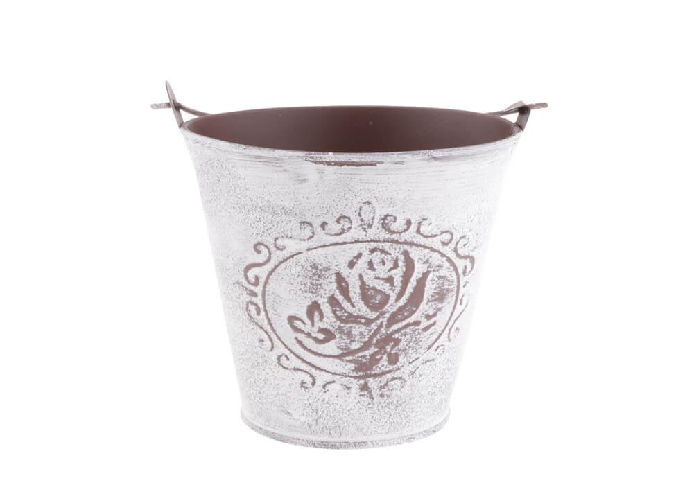 Mini Rustic Metal Bucket Flower Vase Planter Pot CA-MP102