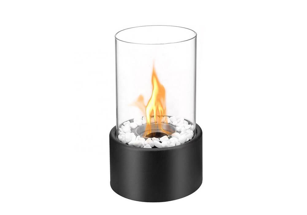 round tabletop ethanol fireplace CA-EF1001